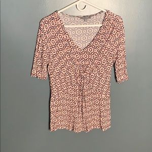 Daisy Fuentes patterned top